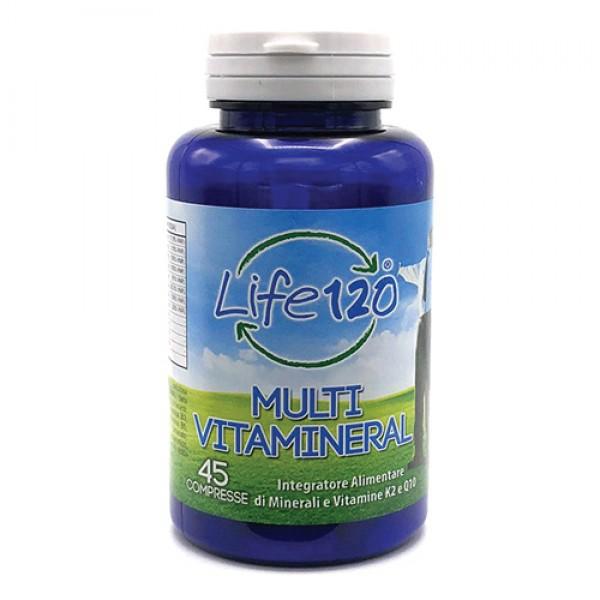 Life 120 Multivitamineral 45 Compresse