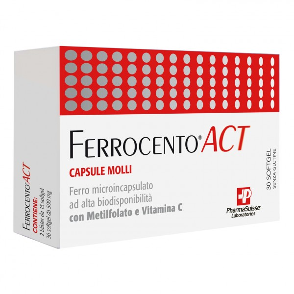 FERROCENTO ACT 30 Softgel