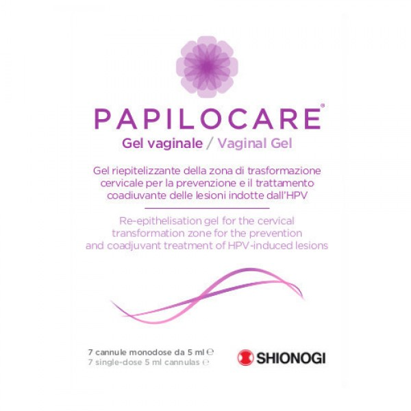 PAPILOCARE Gel Vaginale 7 Cannule 5 ml