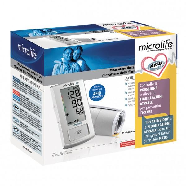 Microlife AFIB Advanced Easy - Misuratore di Pressione con Rilevazione della Fibrillazione Atriale