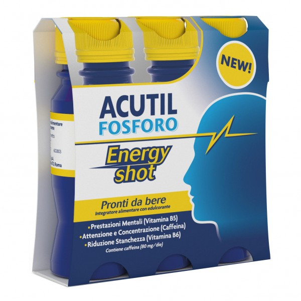 ACUTIL Fosforo Energy Shot 3 Flaconcini ...