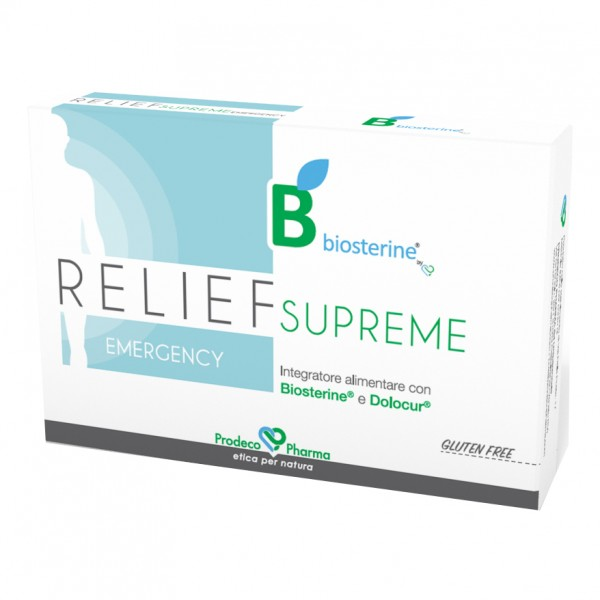 BIOSTERINE Relief 12 Cpr