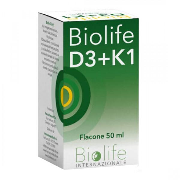 BIOLIFE D3+K1 Gtt 50ml