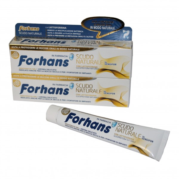FORHANS Dent.Scudo Nat.75ml