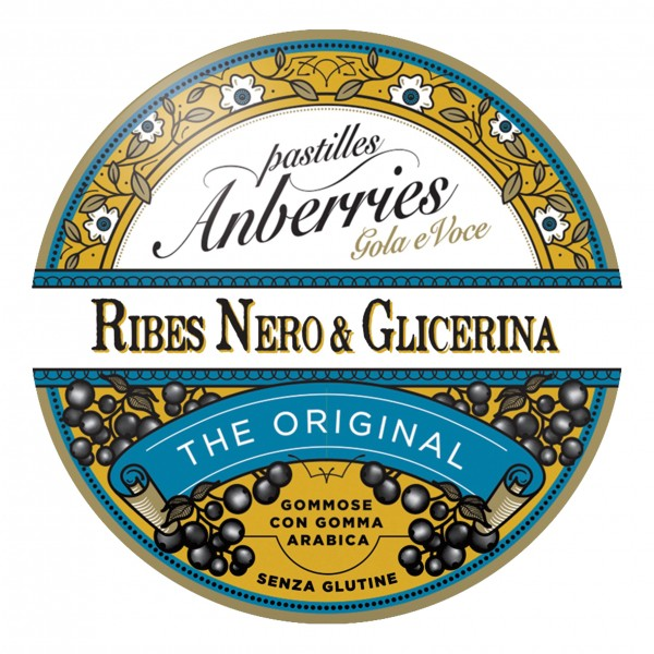 ANBERRIES Past.Ribes-Glicerina