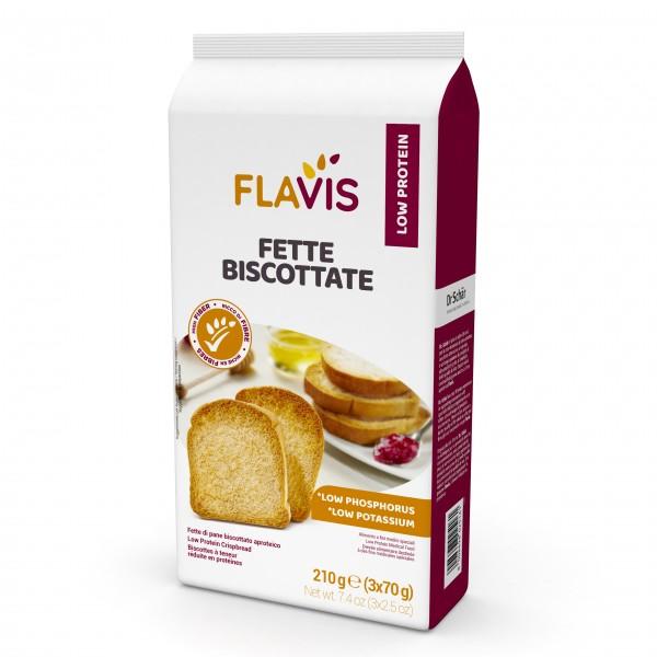 Mevalia Flavis Fette Bisc 210g