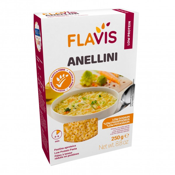 MEVALIA Flavis Anellini Aproteici 250g