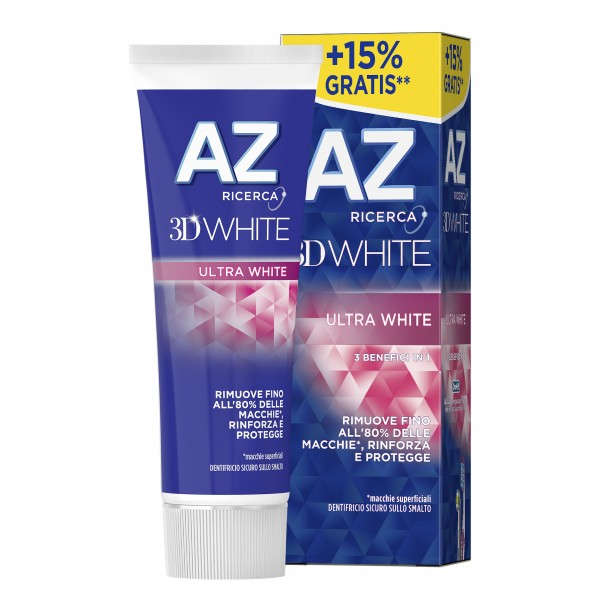 AZ 3D White Ultra White65+10ml