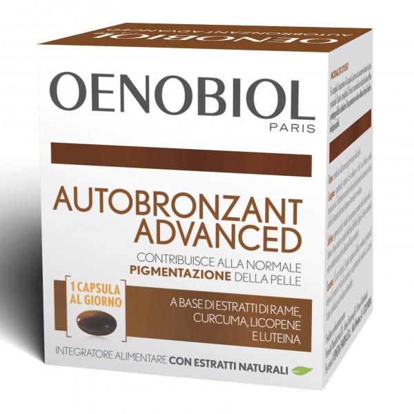 OENOBIOL Autobronzant Adv30Cps