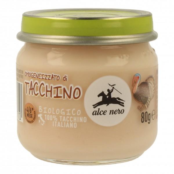 ALCE OMO Tacchino Bio 80g