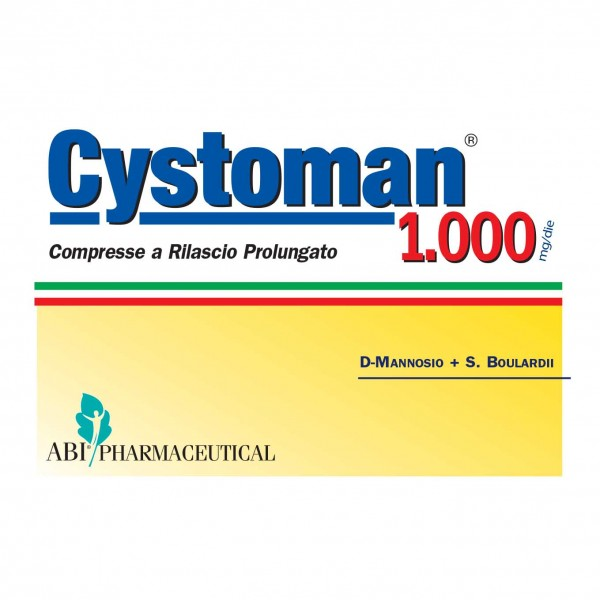 CYSTOMAN-1000 12 Cpr RP