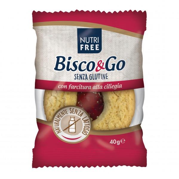 NUTRIFREE Bisco&Go Ciliegia40g