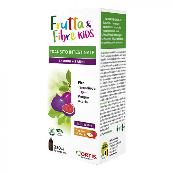 FRUTTA&FIBRE Scir.Kids 250ml
