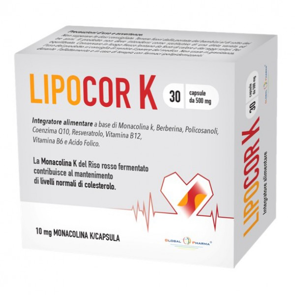 LIPOCOR K 30 Cps 500mg