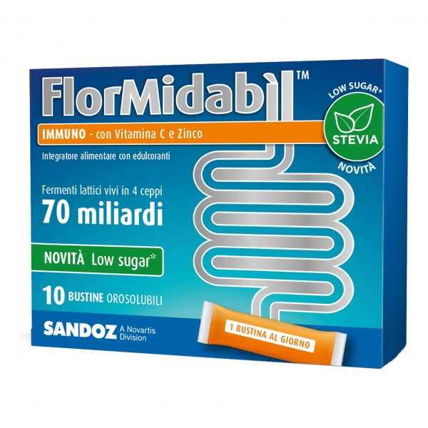 FlorMidabil Immuno - Integratore con fer...