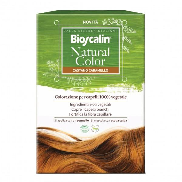 Bioscalin Natural Color Colorazione per Capelli Naturale Colore Castano Caramello