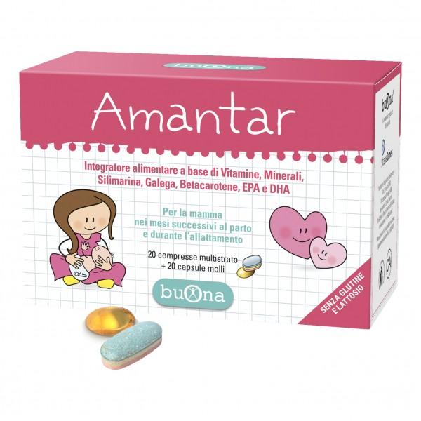 AMANTAR 20Cpr+20Cps
