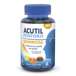 Acutil Fosforo Gommose - Integratore Alimentare per la memoria e la concentrazione - 50 Caramelle Gommose