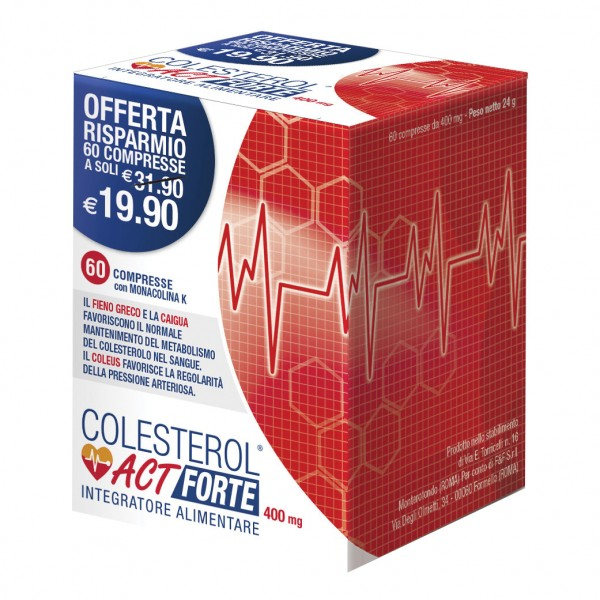 COLESTEROL ACT Forte 60 Cpr