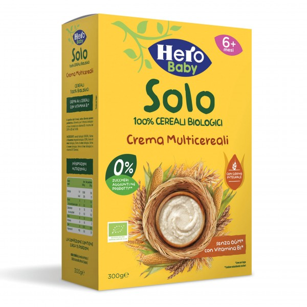 HERO BABY Crema M-Cereali 300g