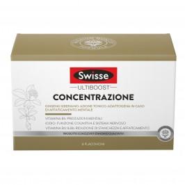Swisse Concentrazione - Integratore Alimentare per l'affaticamento mentale - 8 Flaconi da 30 ml