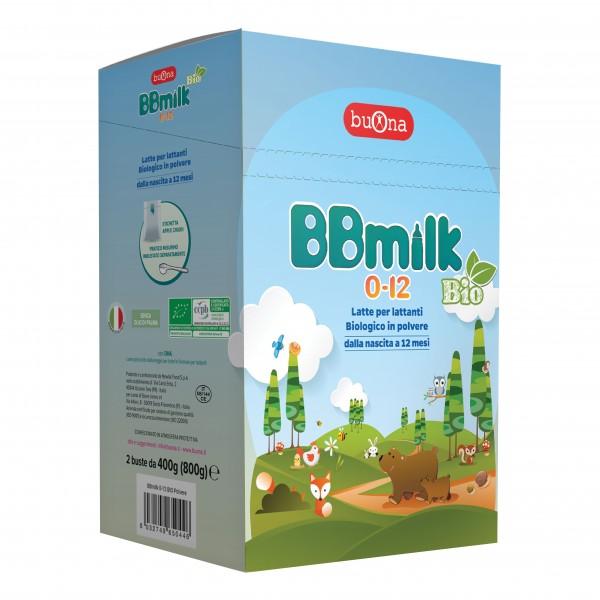 BB Milk 0-12mesi Bio Polv.800g