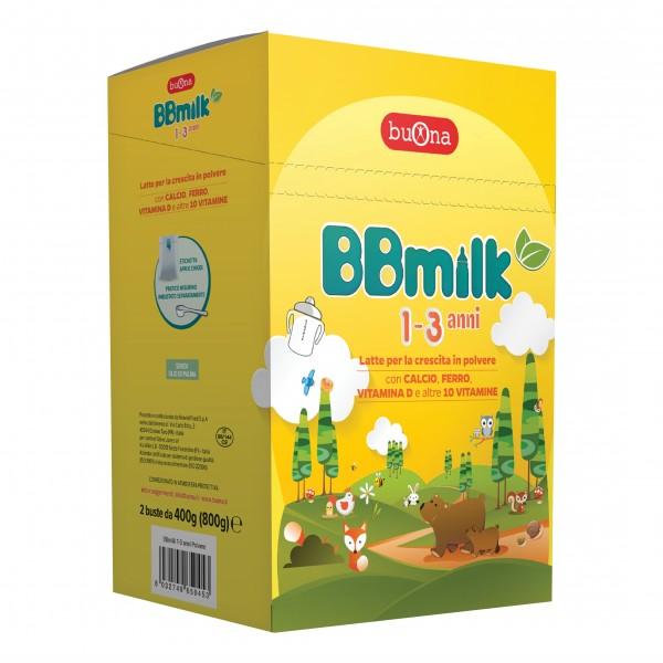BB Milk 1-3 Anni Polv.800g