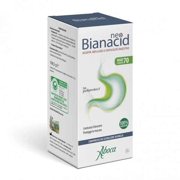Neobianacid Acidità e Reflusso 70 Compresse Masticabili