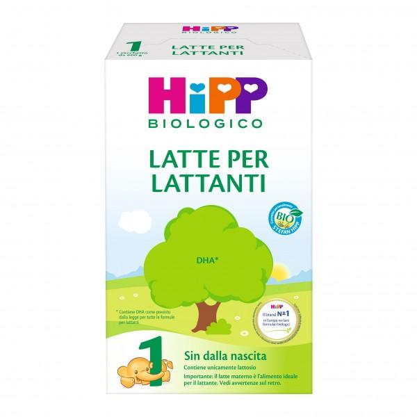 HIPP 1 Bio Latte Polv.600g