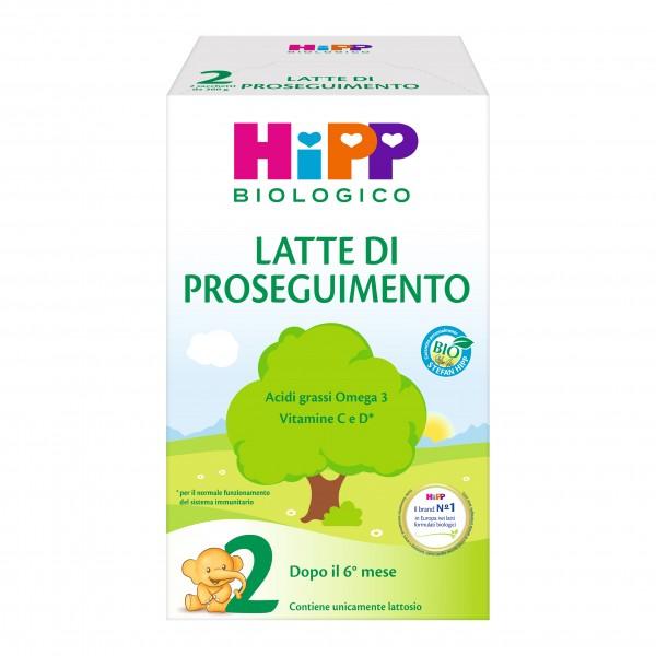 HIPP 2 Latte Proseg.600g