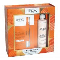 Lierac Cofanetto Mesolift - Mesolift C15 Concentrato Rivitalizzante 2 fiale + Latte micellare struccante 200 ml