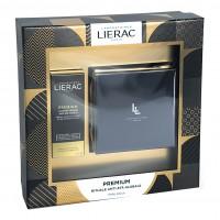 Lierac Cofanetto Premium Voluptueuse - Crema ricca giorno e notte anti-età globale 50 ml + Creme Regard occhi anti-età globale 15 ml