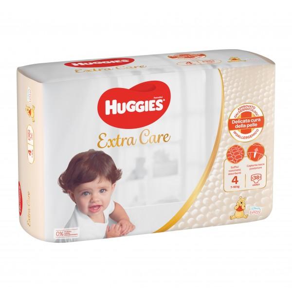 HUGG.Extra Care  7/18Kg4 38pz