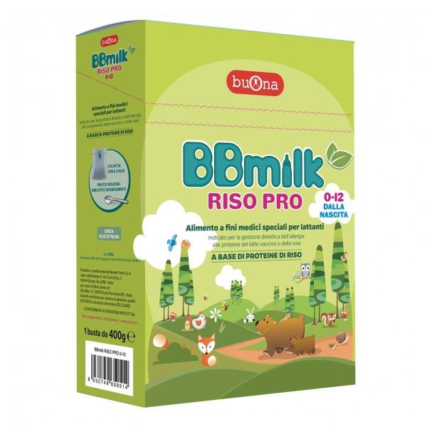 BB Milk 0-12mesi Pro 400g