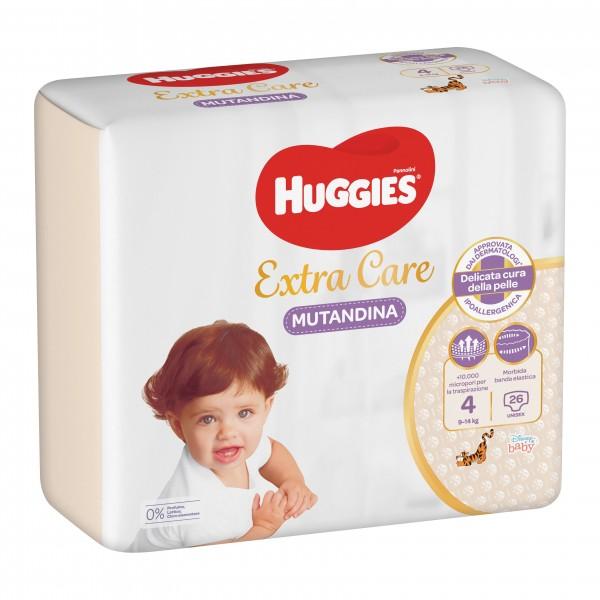 HUGG.Extra Care  9/14Kg4 26pz