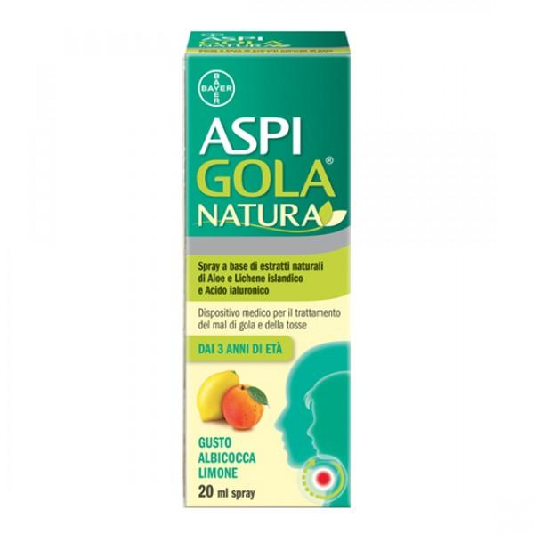 Aspi Gola Natura Spray Menta e Limone