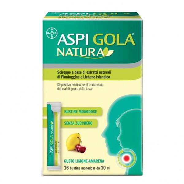 Aspi Gola Natura 16 Bustine Limone Amare...