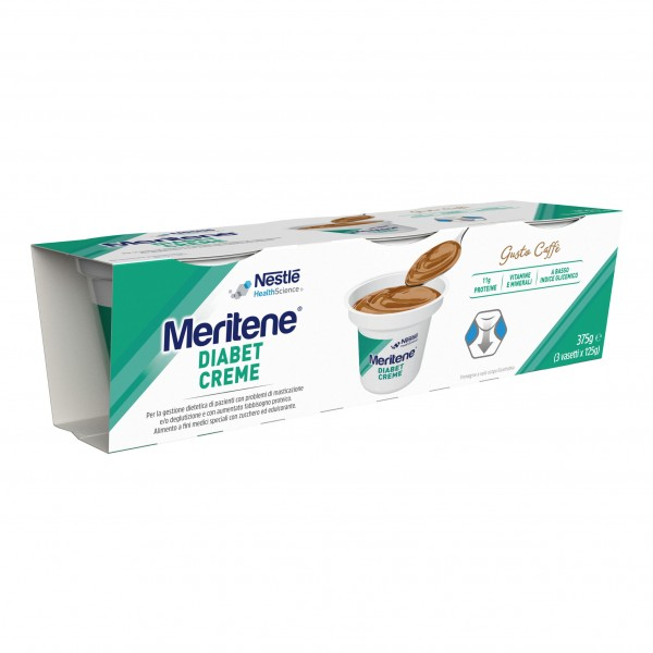 MERITENE Diabet Cr.Caffe3x125g