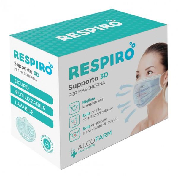 RESPIRO Supp.3D Mascherina 2pz