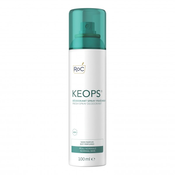 Roc Keops Fresh Deodorante Spray Fresco 48 ore 100 ml