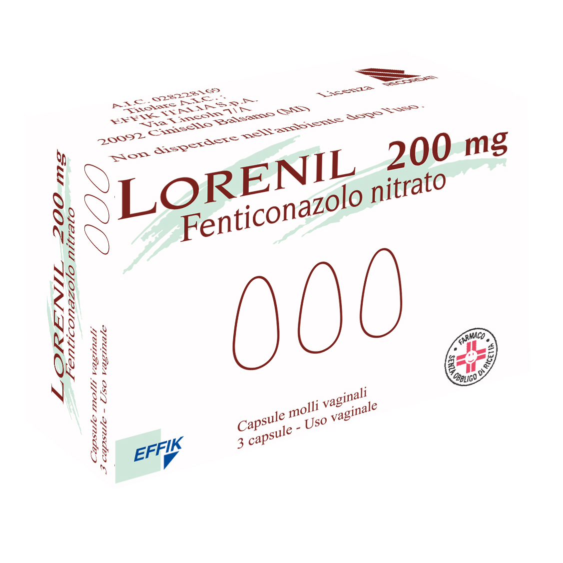 Lorenil*3cps Molli Vag 200mg