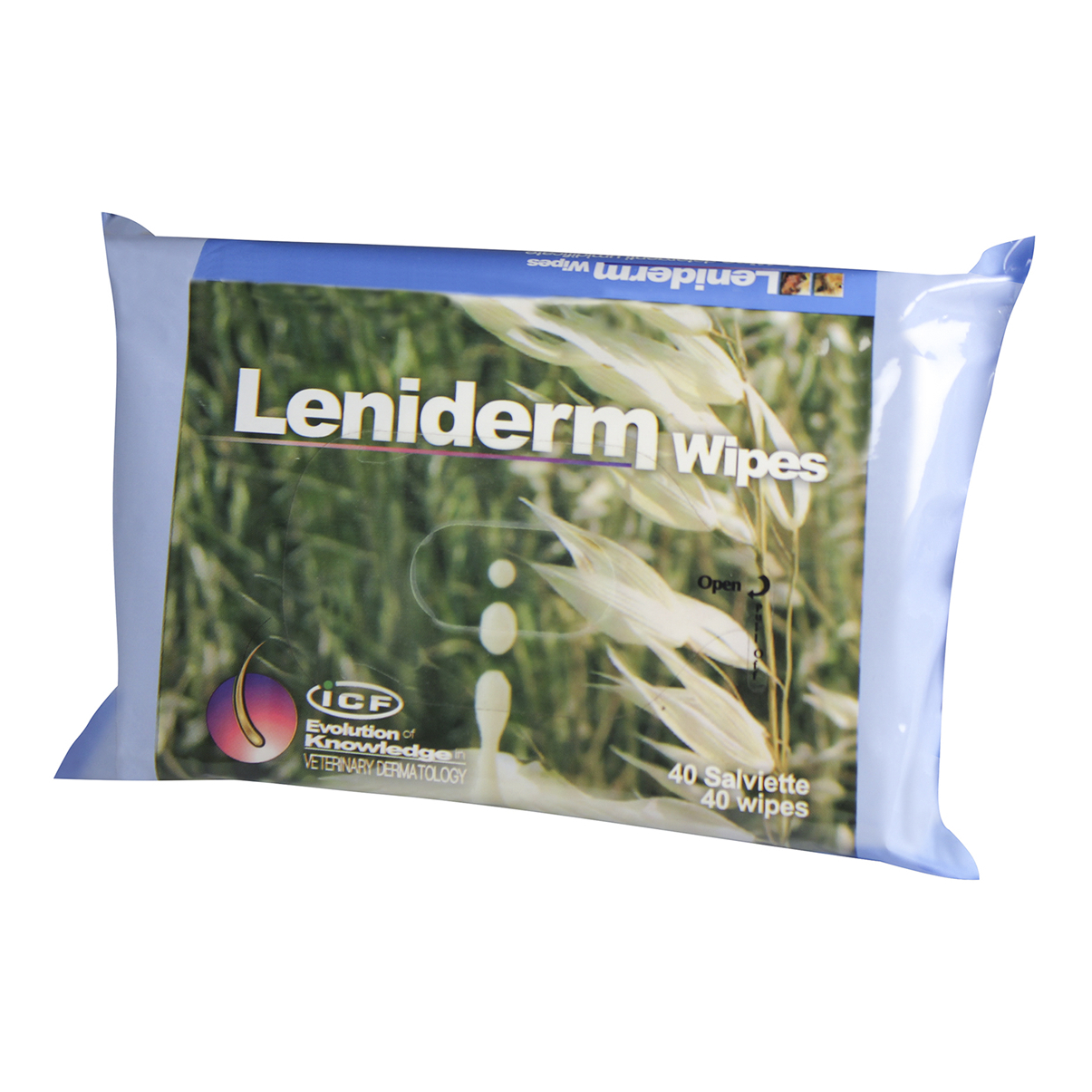 LENIDERM Wipes 40 Strappi